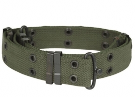 Broekriem, model Pistol belt M1943 - Groen - 3 cm. breed