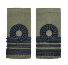 Korps Mariniers GVT epauletten - Majoor der Mariniers - 11  x 5 cm - origineel