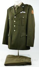 KCT Korps Commando Troepen DT set jas met broek - maat 53 = Large  - rang Sergeant -  origineel