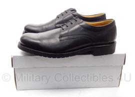 """KL DT nette schoenen """"DEFENSIE"""" - licht gebruikt in doos - Schoen, man, Derby, zwart - maat 8,5 M = 43 normale breedte = 270m - origineel"""