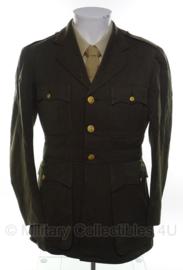 US Officer Class A jas  - size 40 = nl maat 50 - origineel WO2