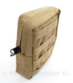 Defensie en Korps Mariniers Profile Equipment coyote Molle tas utility pouch - nieuw - 22 x 15 x 7 cm - origineel