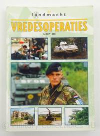 KL Landmacht handboek Vredesoperaties LDP III - origineel