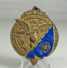 Natl. Assn. Chiefs of Police of U.S. & Canada medaille - may 28, 1901 - origineel