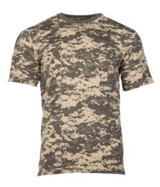 T shirt ACU camo