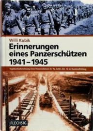 Boek Erinnerungen eines Panzerschützen 1941- 1945