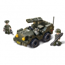 Sluban (geen lego) Jeep - type M38-B5800