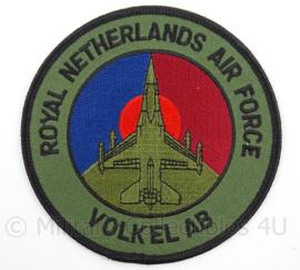 KLu Luchtmacht embleem Royal Netherlands Air Force Volkel AB - doorsnede 10 cm - origineel