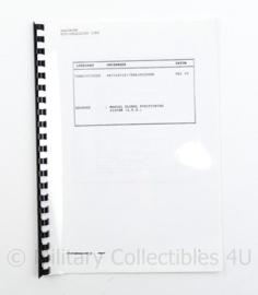 Defensie Handboek GPS Navigatie verbindingen - mei 1995 - 29,5 x 21 cm - origineel