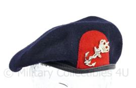 Korps Mariniers baret met insigne - maat 57  - origineel