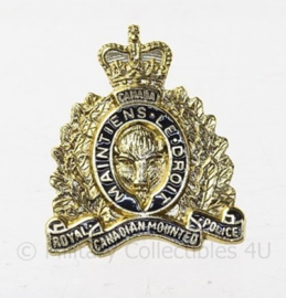 Canadese speld RCMP Royal Canadian Mounted Police - 2 x 2 cm - origineel