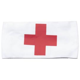Rode kruis armband -met klittenband - nieuw! - origineel