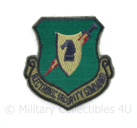 USAF Electronic Security Command Patch - 8 x 7,5 cm - origineel