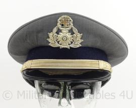 Griekse Politie officiers pet - Officers police cap - maat 56 - origineel