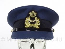 KLU Koninklijke Luchtmacht pet Officier - met insigne - maat 58 - origineel