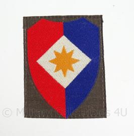 """KL eenheid embleem """"Officier staf 1ste legerkorps"""" - 1963/2000 - origineel"""