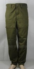 Combat trouser M85 Groen - ONGEBRUIKT - origineel