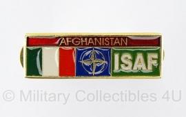 Afghaanse speld ISAF Italie - origineel