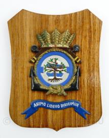 Wandbord  320 Squadron Koninklijke Marine Luchtvaartdienst - 19 x 14 x 1 cm - origineel
