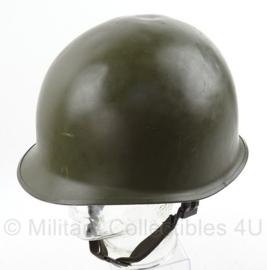 Koninklijke Landmacht KL Nederlandse leger M1 helm, met originele binnenhelm - origineel
