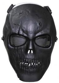 """Airsoft Masker """"doodskop"""" zwart"""