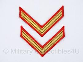 KMA strepen PAAR cadet - meerdere op voorraad - origineel