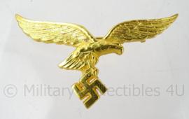 Luftwaffe zomer uniform borstspeld adelaar GOUDKLEURIG - compleet