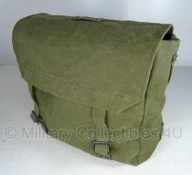 Nederlands leger pukkel OD groen Largepack Large pack met draagriemen - 35 x 15 x 30 cm - origineel