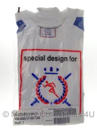 KL Nederlandse leger LO sport shirt - nieuw in verpakking - lange mouw - maat 7 - origineel