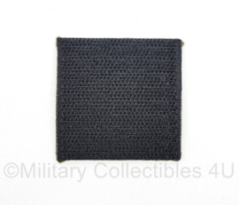 Defensie borst  embleem Cavalerieschool - met klittenband - 5 x 5 cm - origineel