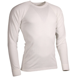 Ondershirt WIT - lange mouw  - dikke uitvoering - NIEUW in verpakking - maat 7080/8595 - origineel