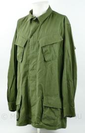 US Vietnam oorlog Jungle Fatique shirt 3rd Pattern OG107 class 1 -  X Small Regular - gedateerd 1969 - origineel
