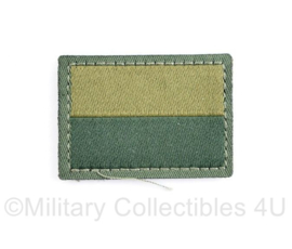 Oekraïense leger arm vlag embleem - met klittenband - 4,5 x 4 cm - origineel