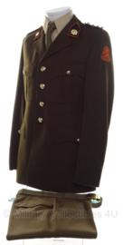 KL DT kleding set kapitein-ritmeester - jas, broek en overhemd - maat 49 3/4 - origineel