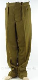 US m37 wool model trouser - taille 82 cm / binnenbeen 80 cm. - origineel naoorlogs