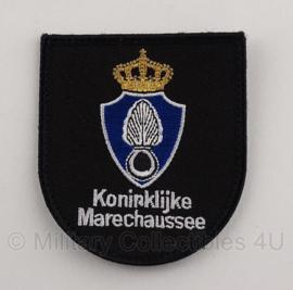 KMAR Koninklijke Marechaussee arm embleem met klittenband - huidig model - 7 x 8 cm - origineel