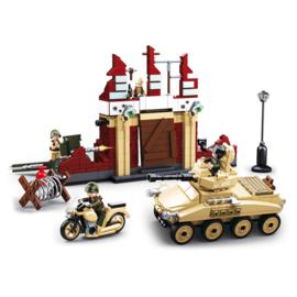 Sluban (geen lego) WO2 Russische Stalingrad set - type M38-B0696