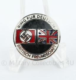 "Speld ""Ring fur Deutsch Britisch Freundschaft""  - met RZM stempel"