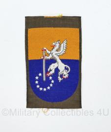 KL mouwembleem 41 Gemechaniseerde Brigade ongevouwen - 8 x 5 cm - origineel