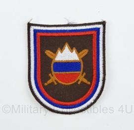 Slovenska Vojska Sloveens mouwembleem - origineel