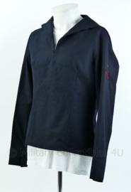 KM Koninklijke Marine donkerblauw matrozen shirt uit 1970 - maat 49 - origineel