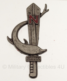 WW2 Italian RSI NUOTATORI DECIMA MAS Badge in geschenk- of displaydoosje