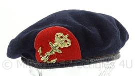 Korps Mariniers DT en CT tenue baret - maker Kangol 1999 - maat 59 - origineel