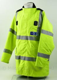 Britse Politie Police geel jack met voering, portofoonhouders en epauletten met nr 3877 - maat Xlarge short - origineel