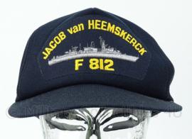 KM Marine Baseball cap -  bemanning F812 Jacob van Heemskerck - one size - origineel