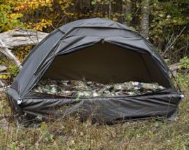 Tent voor op veldbed in draagtas - Groen - nieuw gemaakt