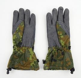 Gevechts handschoenen Winter versie met voering - BW flecktarn - maat 8 t/m 10 - origineel