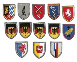 Bundeswehr willekeurig eenheid embleem (1 embleem) - origineel