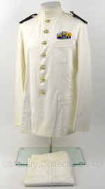 Korps Mariniers Toetoep uniform met broek - met medaille balk - rang Kapitein ter Zee - maat 51-39 - origineel