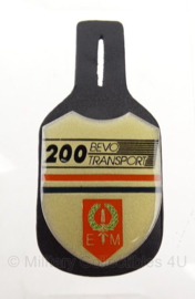 Borsthanger KL BEVO 200 E.M (eerste divisie 7 december) - origineel